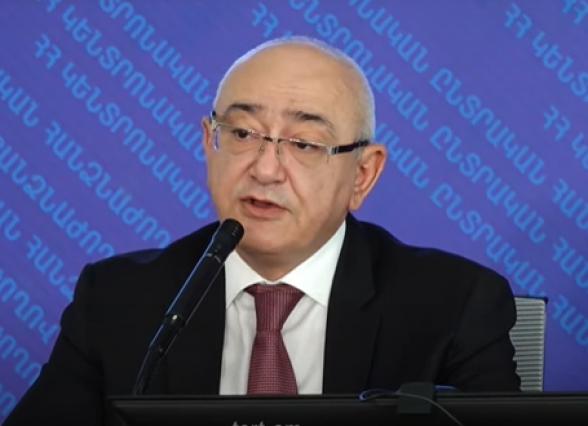 Пресс-конференция председателя Центризбиркома РА Тиграна Мукучяна (видео)