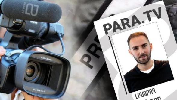 Գորիսի 34/03 ընտրատեղամասի դիմաց խոչընդոտվել է ParaTV-ի լրագրողի աշխատանքը