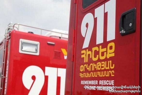 В Тавуше УАЗ упал в ущелье: есть погибший и раненый