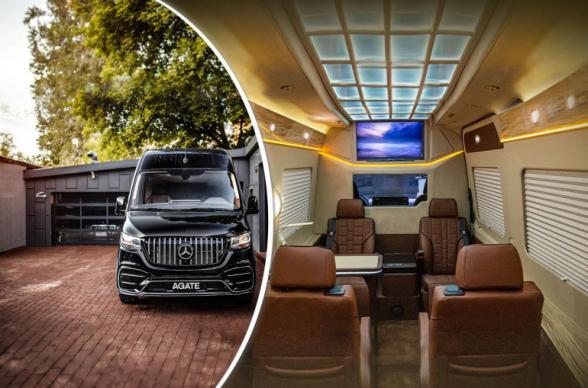 «Պալատ անիվների վրա». սովորական Mercedes-Benz Sprinter-ը ճոխ հարդարման շնորհիվ դարձել է VIP փոխադրամիջոց (տեսանյութ)