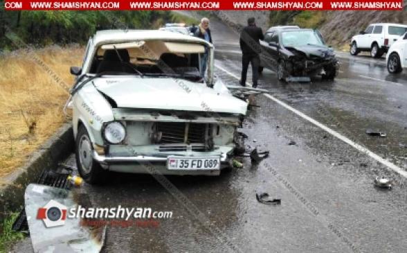 Սյունիքի մարզում Գորիս-Ստեփանակերտ ճանապարհին բախվել են Opel-ն ու ГАЗ 2410-ը. կա 1 զոհ. 1 վիրավոր