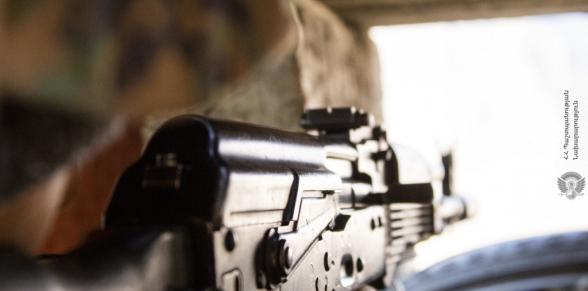 Азербайджанские ВС открыли огонь по армянским позициям на двух участках направлениях границы – Минобороны