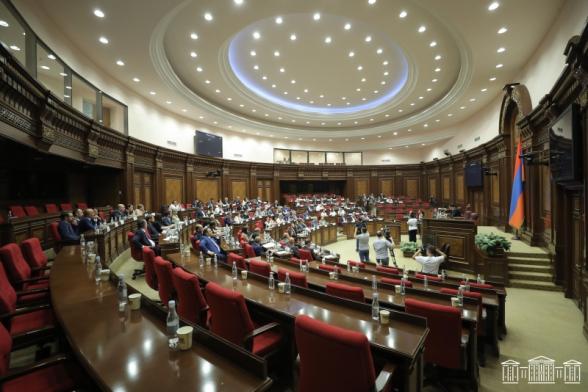 Ихшан Сагателян повторно не избран вице-спикером НС от оппозиции (видео)