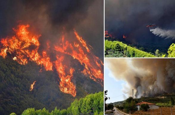 Հունաստանում անտառային հրդեհները մոտեցել են Օլիմպիական խաղերի «ծննդավայրին». կրակով շրջապատված վանականները հրաժարվել են լքել վանքը. The Guardian