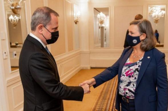 Байрамов и Нуланд обсудили договоренности по Карабаху