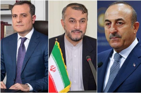 В Тегеране пройдет встреча глав МИД Ирана, Турции и Азербайджана