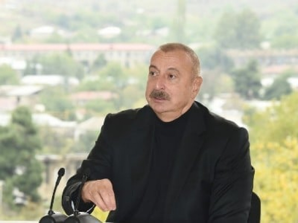 Ալիևը ռուս խաղաղապահներից պահանջում է «խոչընդոտել ԼՂ օտարերկրյա քաղաքացիների անօրինական մուտքը»